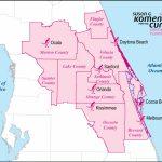 Central Florida County Map | Central Florida Affiliate Service Area   Central Florida County Map