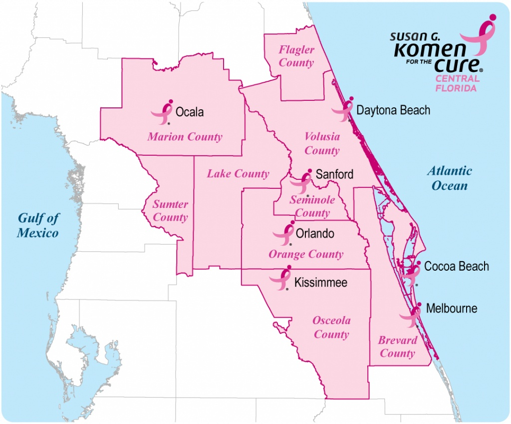 Central Florida Map With Counties | Florida Map 2018 - Central Florida Zip Code Map