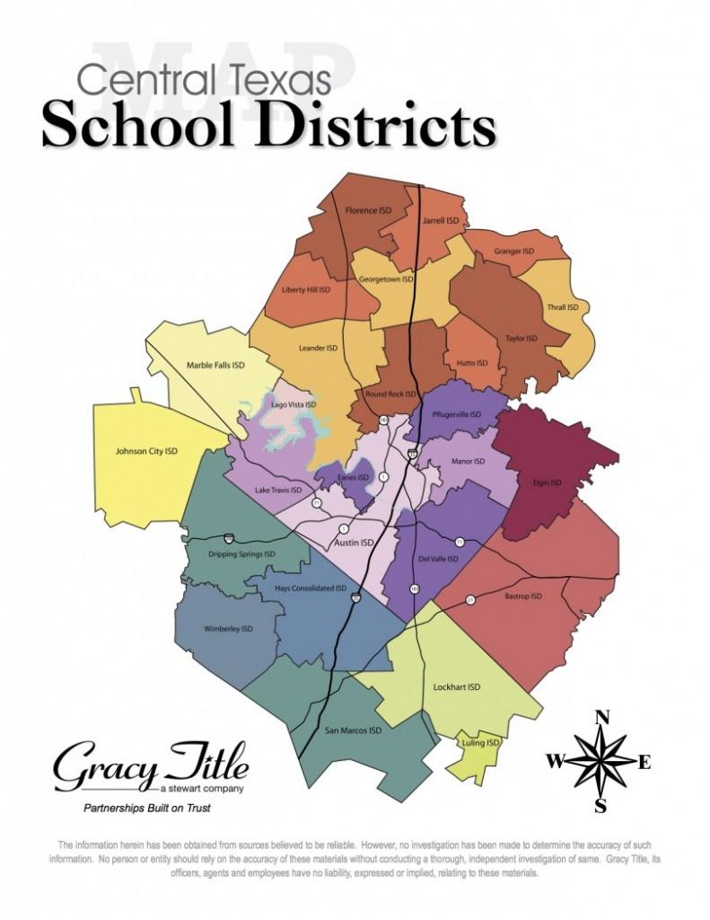 Central Texas School District Map - Cedar Park Texas Living - Cedar Park Texas Map