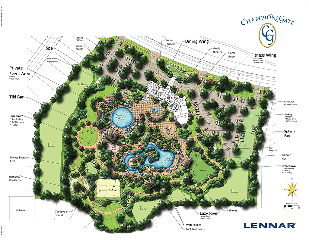 Champions Gate - Florida Golf Comunities | Remax Realtec Group - Champions Gate Florida Map