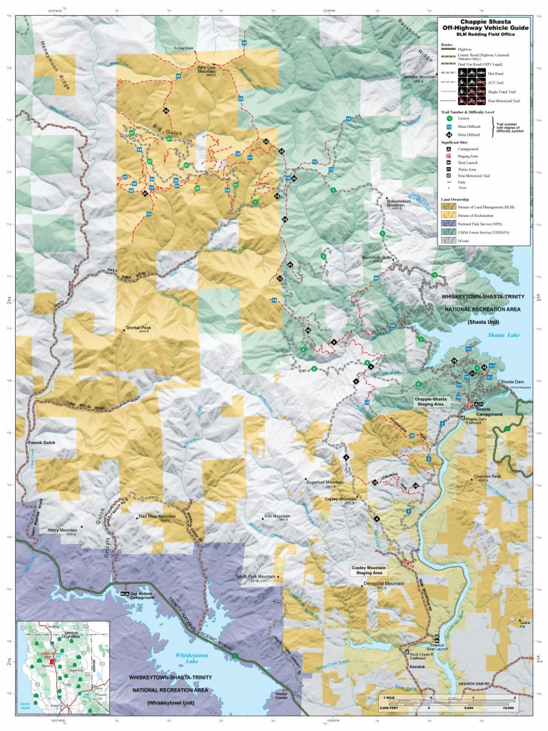 Chappie Blm Map | Off Road | Offroad, Trail Maps, Jeep Trails - Off Road Maps California