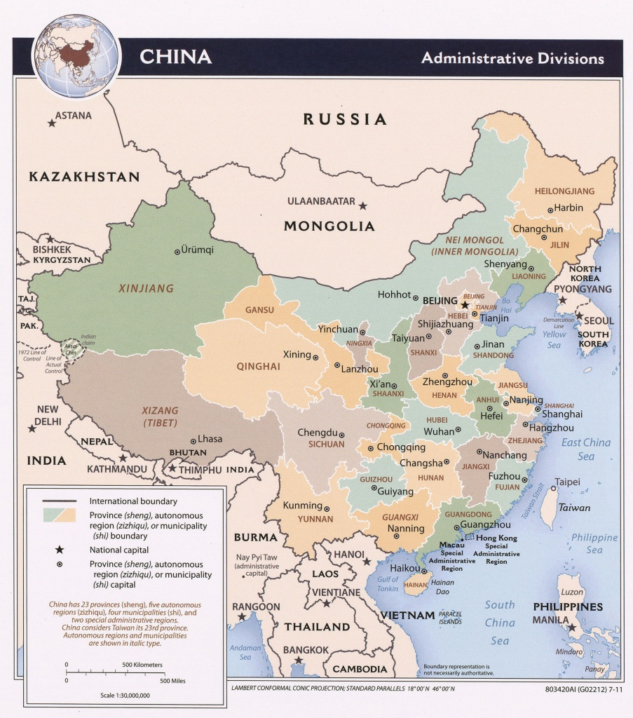 China Maps - Perry-Castañeda Map Collection - Ut Library Online - Aaa Texas Maps