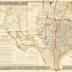 Chisholm Pete Map 76 | Texas Historical Maps | Trail Maps, Cattle - Texas Cattle Trails Map