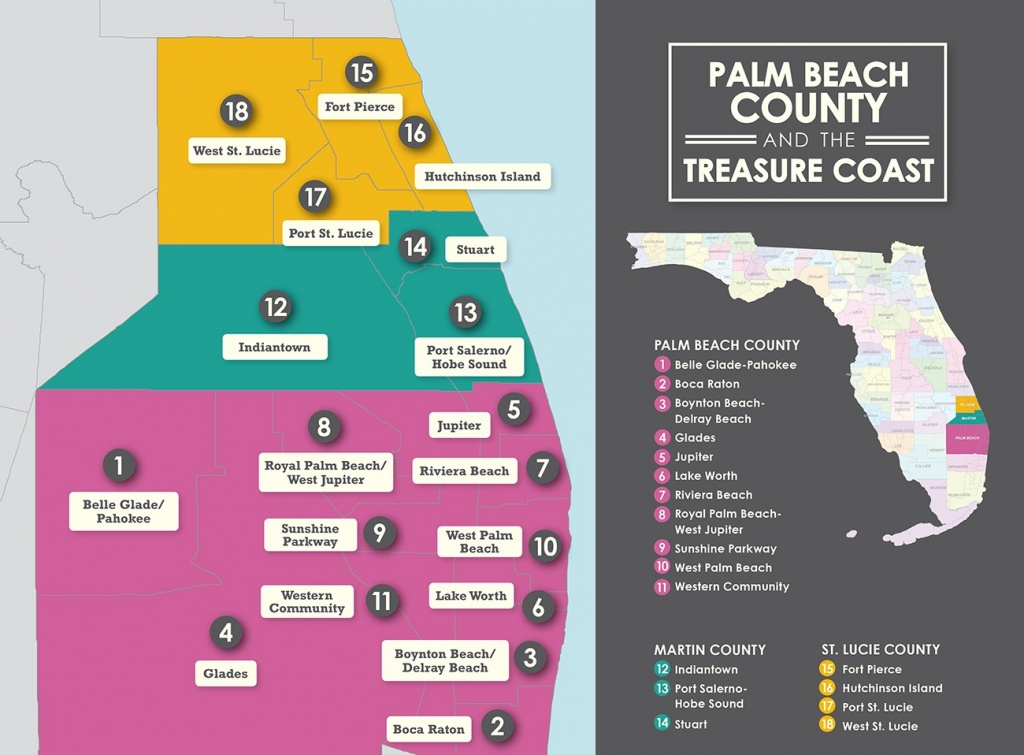 Choosing The Right Neighborhood To Rent In - Map Of Palm Beach County Florida