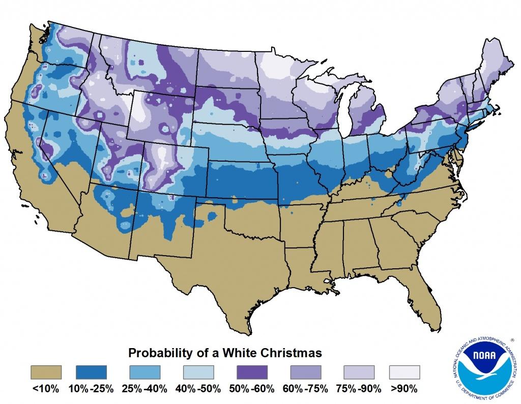Christmas Climatology For The Texas And Oklahoma Panhandles - Texas Forecast Map