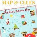 Christmas Treasure Map: Free Printable Map And Clues - Printable Scavenger Hunt Map