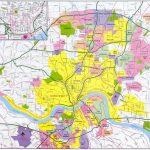 Cincinnati Map   Free Printable Maps   Printable Cincinnati Map