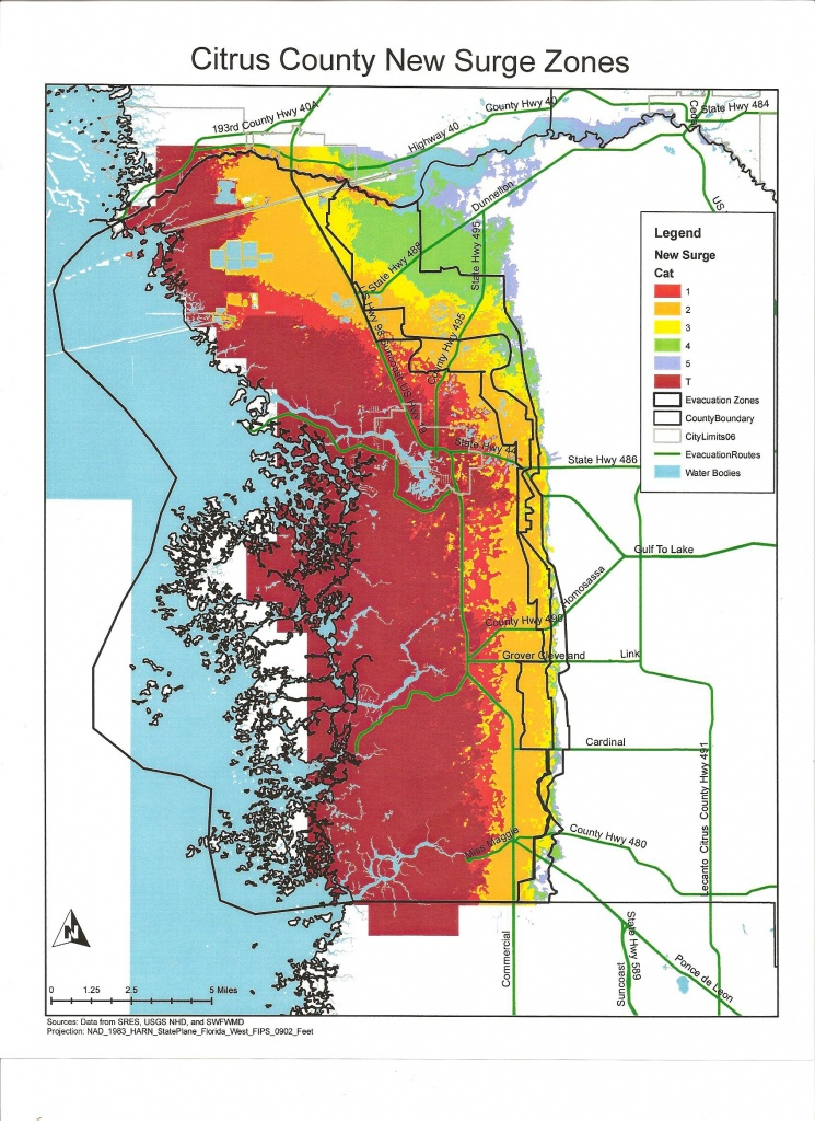 Citrus County Florida And Hurricanes | Cloudman23 - Gulf County Florida Flood Zone Map