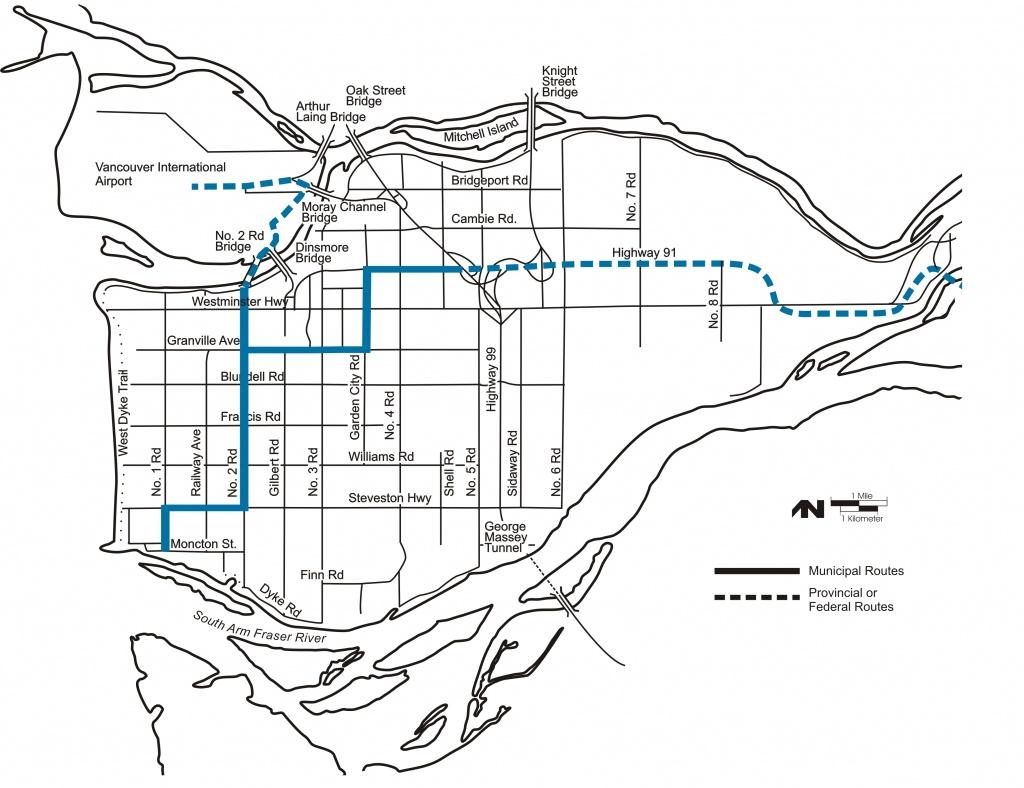 City Of Richmond Bc - Maps & Gis - Printable Map Of Bc