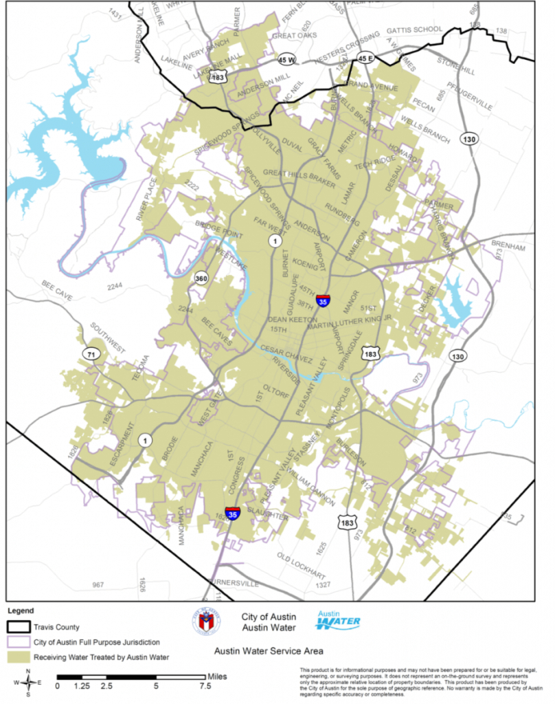 City Of Round Rock Water Customers Unaffectedaustin Boil Notice - Round Rock Texas Map