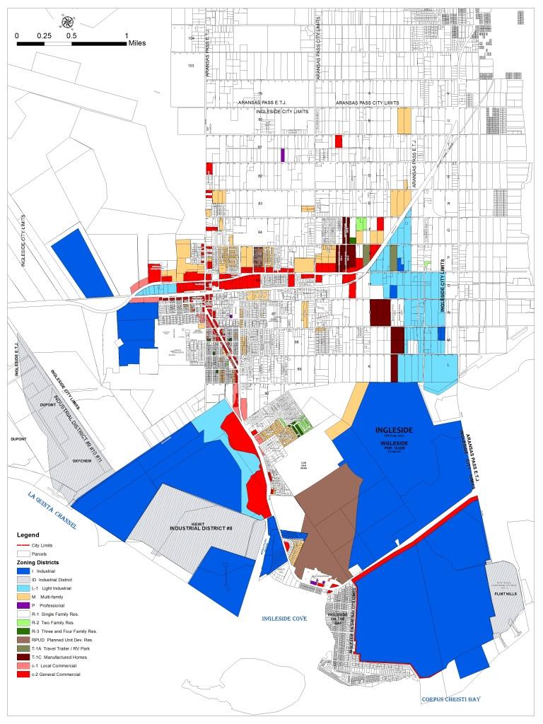 City Zone Maps / San Patricio County Economic Development Corporation - Map Of Aransas Pass Texas