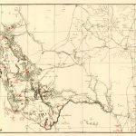 Civil War Map   Military Map Of Rio Grande Frontier 1883   Texas Civil War Map