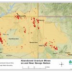Cleaning Up Abandoned Uranium Mines | Navajo Nation: Cleaning Up   Map Of Abandoned Mines In California