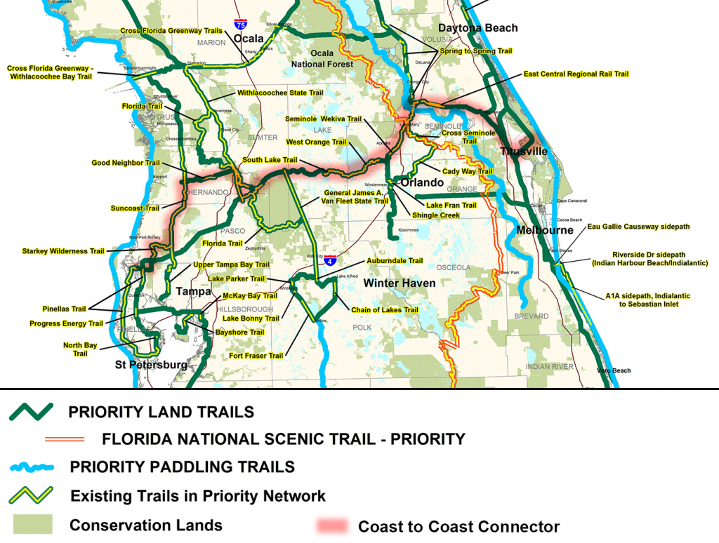 Coast To Coast Connector | | Commute Orlando - Central Florida Bike Trails Map