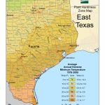 Cold Hardiness Zone Map | - Usda Map Texas