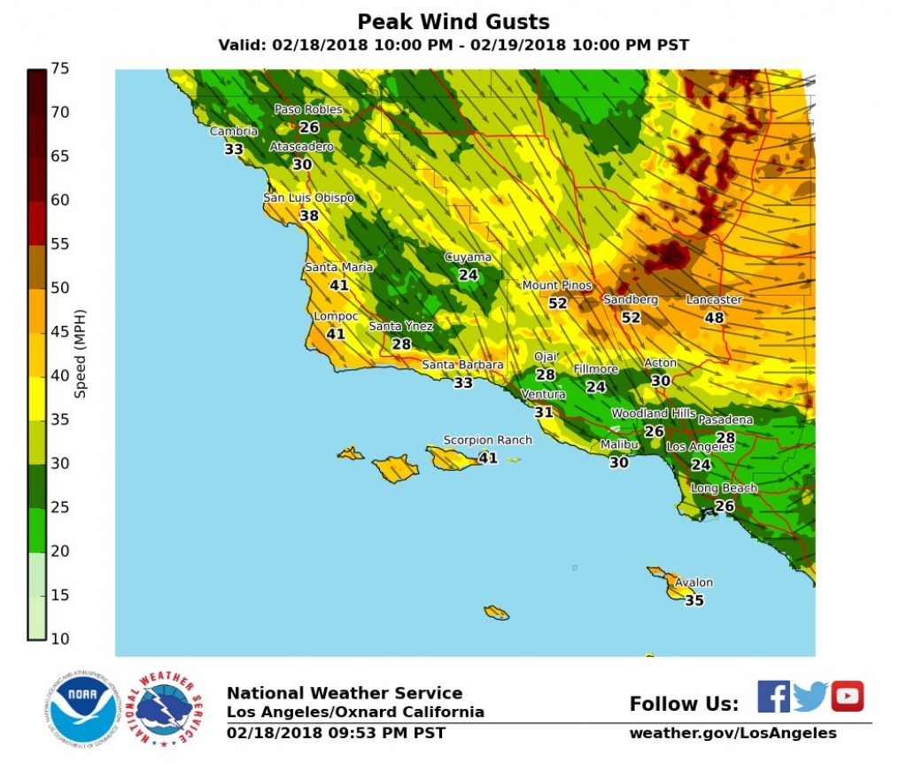 Cold, Windy Storm Could Drop Southern California Snow Levels To - California Snow Map