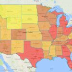 Color Code Your Heat Map With Espatial Mapping Software   California Heat Map