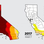 Color Me Dry: Drought Maps Blend Art And Science    But No Politics   California Drought Map 2017