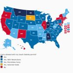 Colorado Concealed Carry Reciprocity Map South Dakota Concealed   California Ccw Reciprocity Map