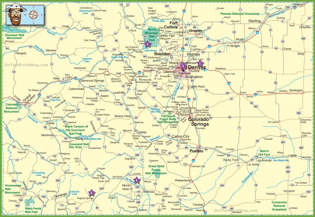 Colorado State Maps | Usa | Maps Of Colorado (Co) - Printable Map Of Colorado