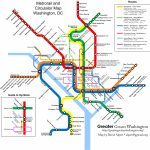 Combine The Circulator And Metro Maps For Visitors – Greater Greater   Printable Dc Metro Map