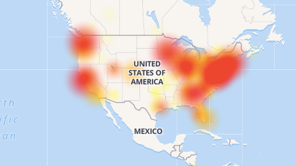 Comcast Internet Is Down Across The Country Today - Axios - Power Outage Map Texas