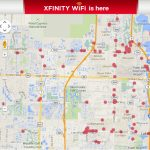 Comcast Turns On Xfinity Wifi Hotspots In Florida | Business Wire   Comcast Service Area Map Florida