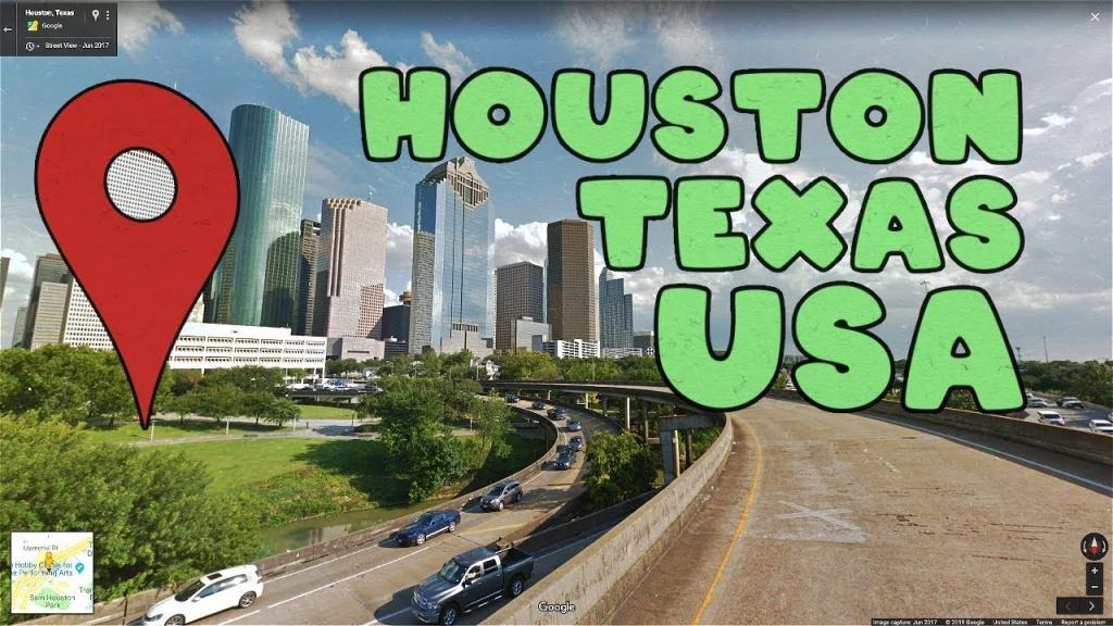 Come Along On A Virtual Tour Of Houston Texas! - Youtube - Google Maps Street View Houston Texas