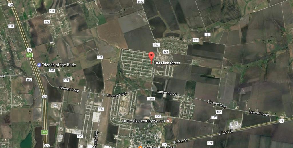 Coming Soon: 104 Flinn Street, Hutto, Tx 78634 - Robert J Fischer - Hutto Texas Map