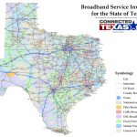 Commissioner Staples Releases Statewide Map To Identify Broadband   Texas Fiber Optic Map