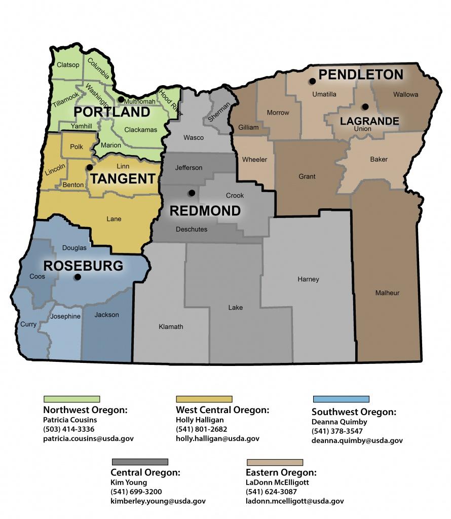 Community Facilities Direct Loan & Grant Program In Oregon | Usda - Usda Home Loan Map California