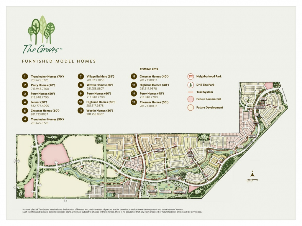Community Map   The Groves: Houston Homes From The $200S - $600S - Groves Texas Map