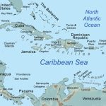 Comprehensive Map Of The Caribbean Sea And Islands   Map Of Islands Off The Coast Of Florida