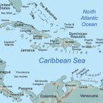 Comprehensive Map Of The Caribbean Sea And Islands   Printable Map Of St Simons Island Ga