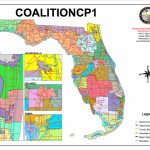 Congressional Districts Drawnvoting Rights Groups Go To Florida   Florida Voting Districts Map
