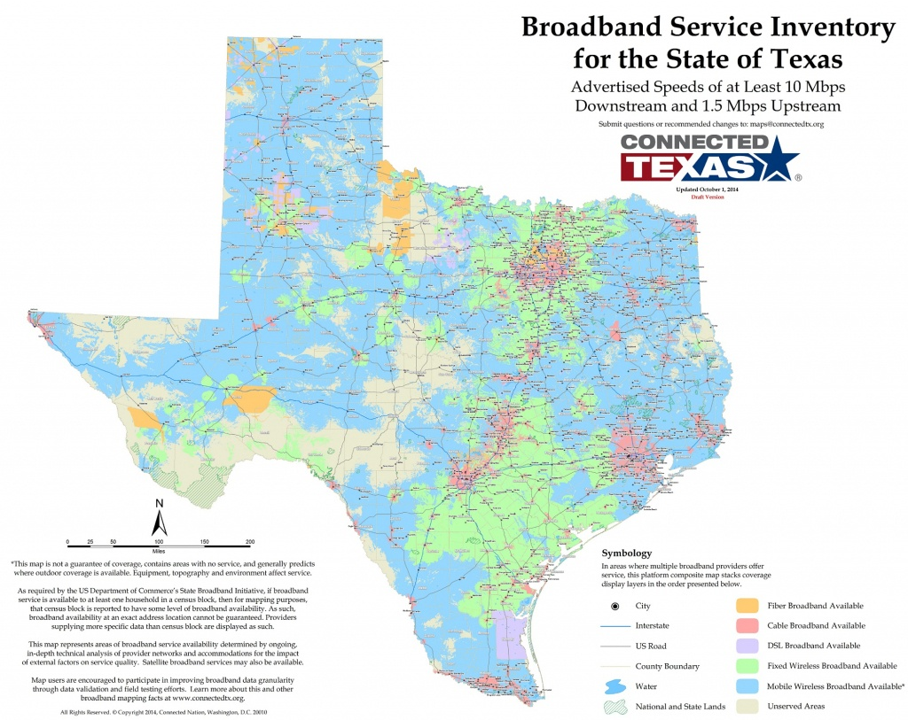 Connected Texas | - Texas Broadband Map