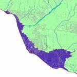 Conservation: Global Warming (Cnps Ci)   California Sea Level Rise Map