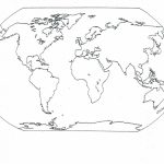 Continents Blank Map | Social | Blank World Map, World Map Coloring   Printable Map Of The 7 Continents And 5 Oceans
