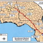 Controversial $3.2 Billion Sabal Trail Natural Gas Pipeline On   Florida Natural Gas Map