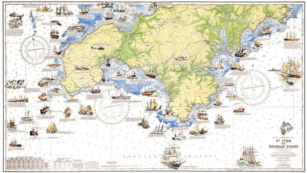 Cornwall Guide - Printable Map Of Cornwall | Printable Maps
