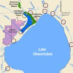 Corps Announces Public Meetings For Lake Okeechobee Watershed Study   Lake Okeechobee Florida Map
