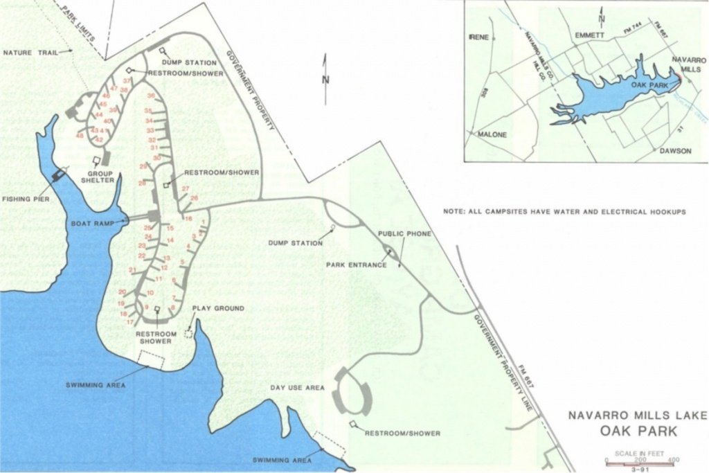 Corps Of Engineer Parks - Corps Of Engineers Campgrounds Texas Map