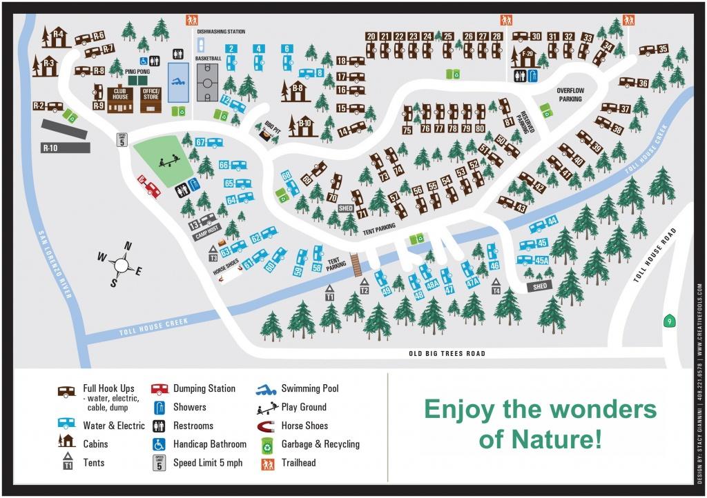 Cotillion Gardens Rv Park - Rv Parks California Map