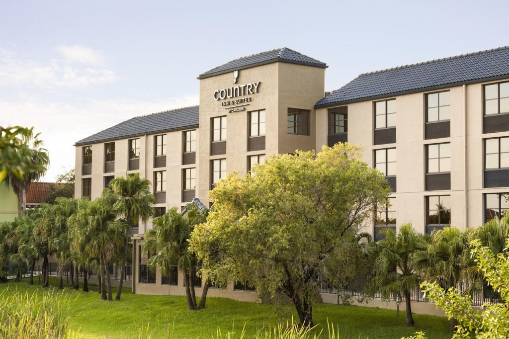 Country Inn Miami Kendall, Fl - Booking - Country Inn And Suites Florida Map