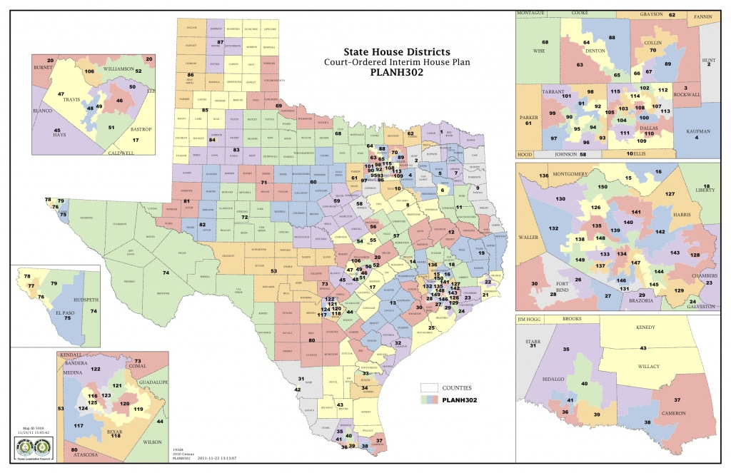 Court Increases Minority Districts In Texas Legislature | The Texas - Texas Senate District 16 Map