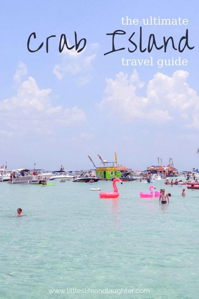 Crab Island In Destin, Florida: What Locals Don't Tell You | World - Crab Island Destin Florida Map