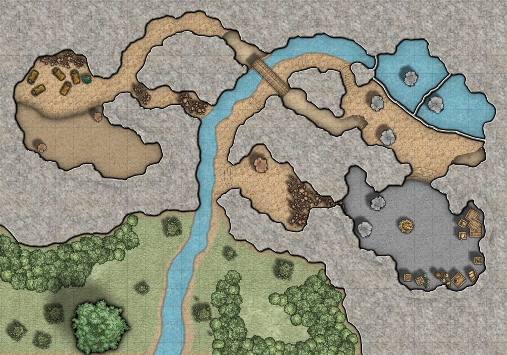 Cragmaw Hideout Map (94+ Images In Collection) Page 1 - Cragmaw Hideout Printable Map