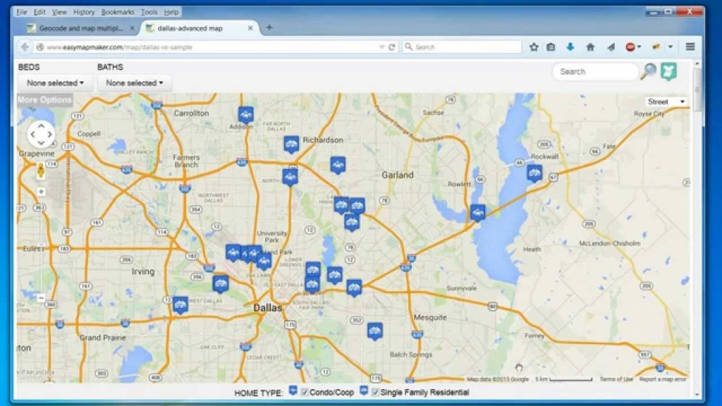 Create A Map: Easily Map Multiple Locations From Excel Data - Printable Map Maker