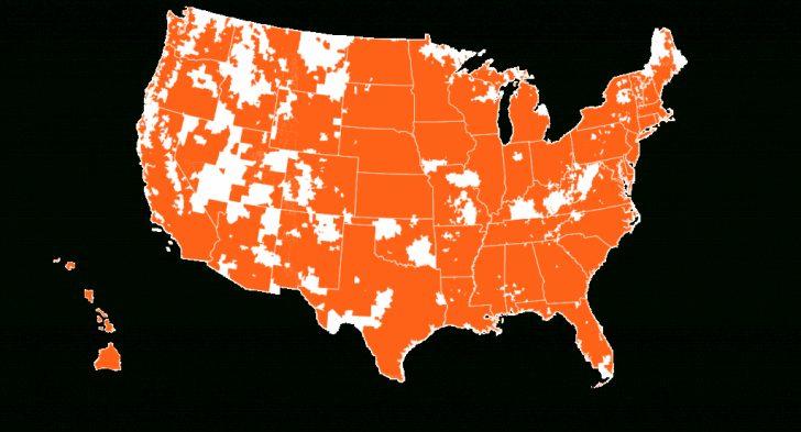 Verizon Coverage Map Texas