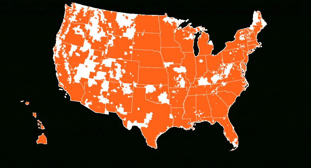 Credo Mobile Coverage Map | Credo Mobile - Verizon Map Coverage Texas